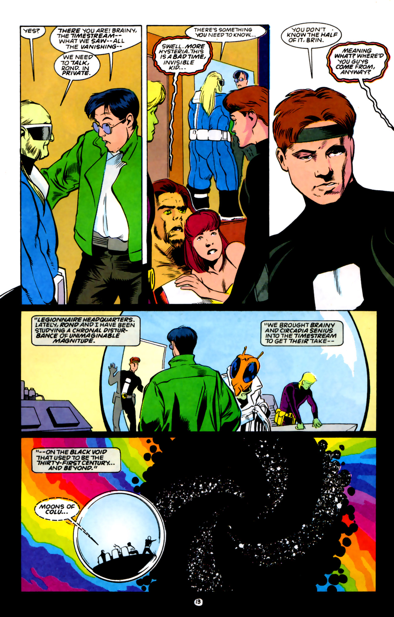 Legion of Super-Heroes (1989) 59 Page 13