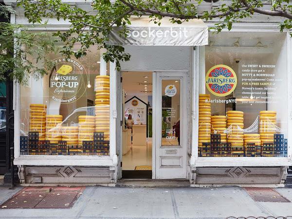 Jarlsberg NYC Pop Up Shop - Now Open!