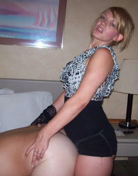 Femdom milf makes guy clean up his mess 10