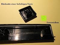 Rückseiten: Logitech K200 Tastatur USB schnurgebunden schwarz OEM (deutsches Tastaturlayout, QWERTZ)