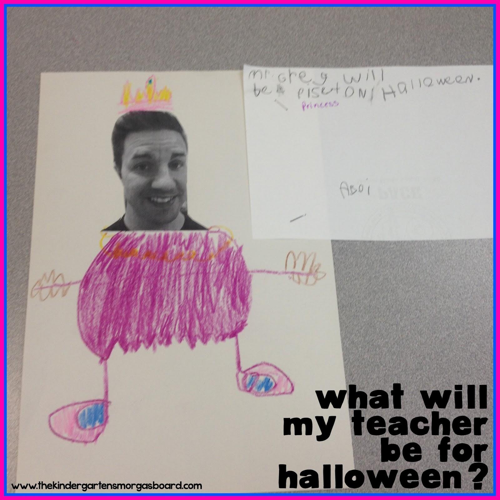 The Kindergarten Smorgasboard A Kindergarten Smorgasboard Halloween Writing Activity
