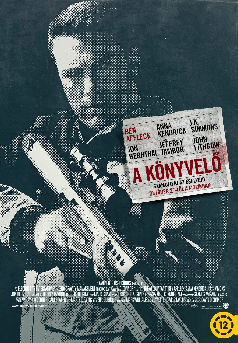 Nonton Film The Accountant (2016)