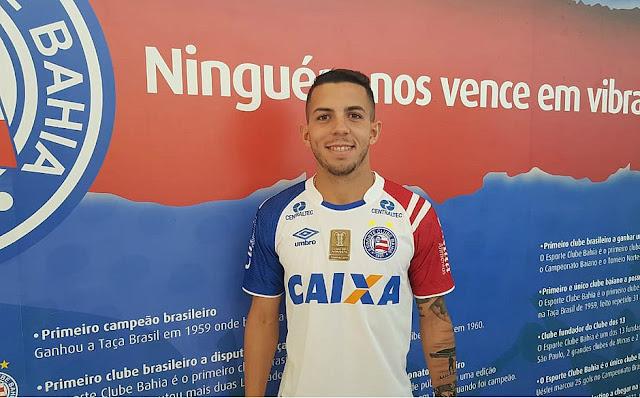 Flávio pode ser titular do Bahia contra o Grêmio na vaga de Gregore - Notícias, Futebol, Esporte, Juazeiro-BA