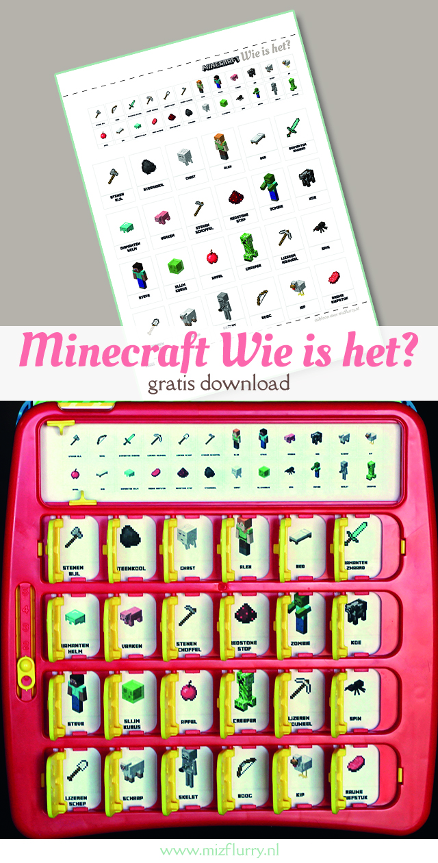 minecraft printable wie is het pinterest