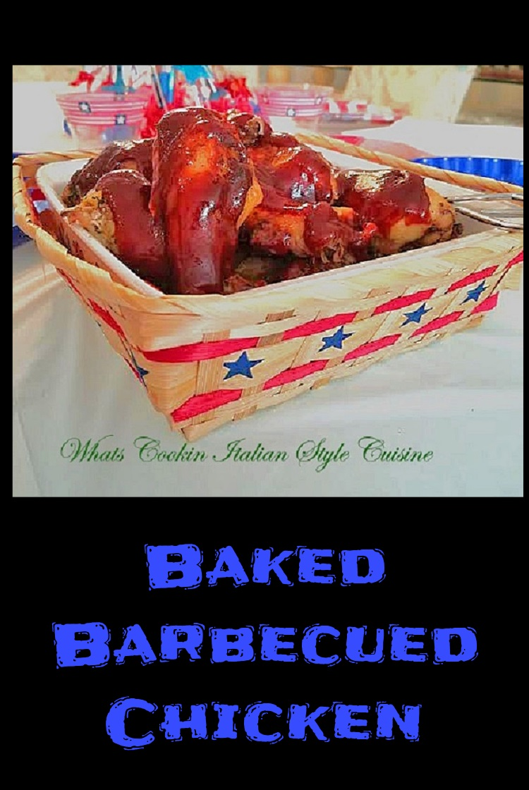 pin for later recipe for barbecued or air fried chicken