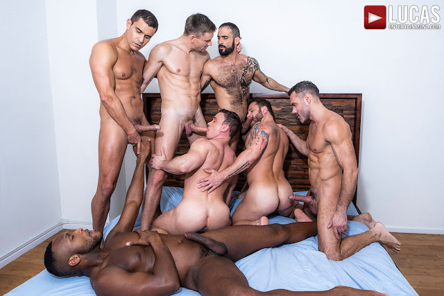 LucasEntertainment - THE LUCAS MEN GANG, BANG, AND POUND (PART 01)