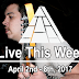 Live This Week: April 2nd - 8th, 2017