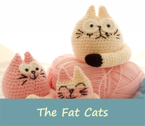 The Fat Cats - Free Pattern