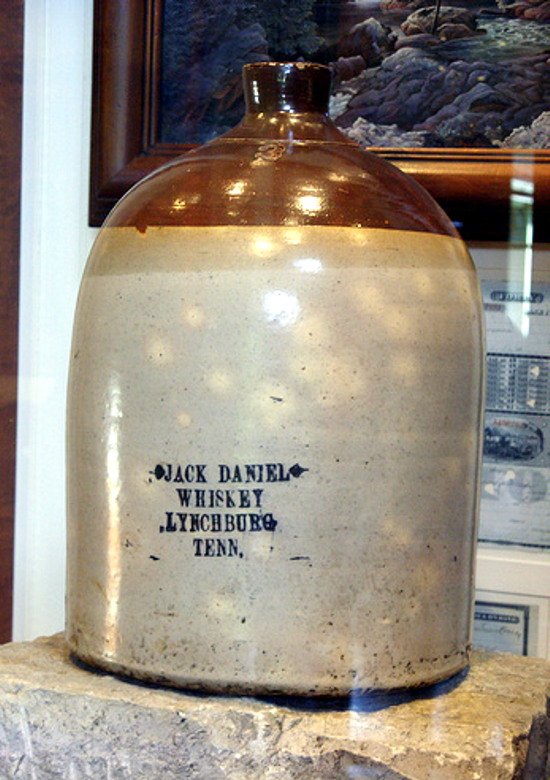 Jack Daniel's jug 1865 - 1870