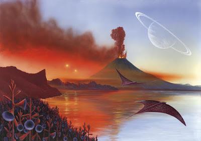 Otros mundos podrían contener vida obtenida a partir de los mismos componentes orgánicos transportados por los cometas.
