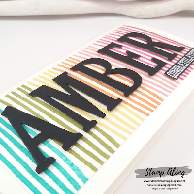 Stampin' Up! Incredible Like You, Large Letters Thinlits Dies