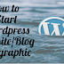 How to Start WordPress Website (INFOGRAPHIC)