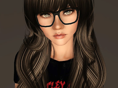 Empire Sims 3 Nerdy Glasses By In3s Little Place