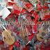 Souvenir Pernikahan Gantungan Kunci Gitar Kayu Enda & Sri