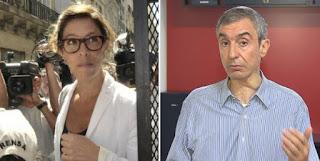 La funcionaria se cruzó con el periodista quien la arrinconó al preguntarle por su posición sobre el acuerdo con Chevron.