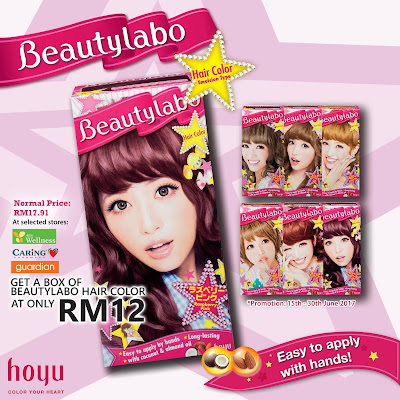 Beautylabo Hair Color Discount Promo Caring Guardian AEON Wellness
