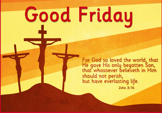 Good friday bible quotes 2017