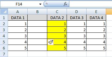 Entire column merupakan sebuah tools yang berkaitan dengan kolom pada ketika insert maupun  Fungsi Entire Column di Excel