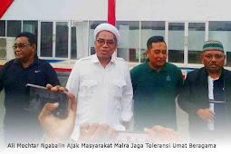 Ali Mochtar Ngabalin Ajak Masyarakat Malra Jaga Toleransi Umat Beragama