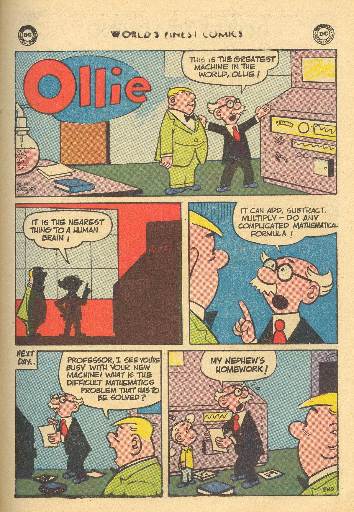Read online World's Finest Comics comic -  Issue #105 - 25
