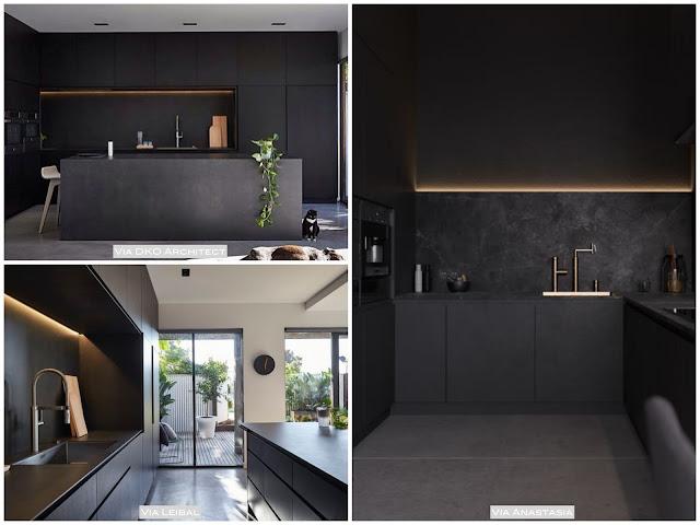 dicas para ter uma cozinha preta
