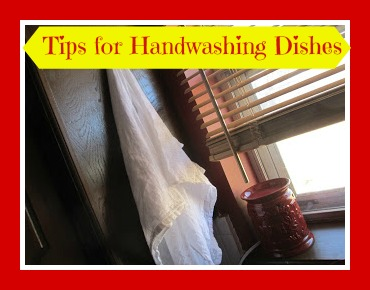 Tips for Hand Washing and Drying Dishes
