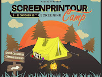 SCREENPRINTOUR, Screening Camp di Garut 21-22 Oktober 2017