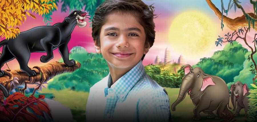 Actorul De Zece Ani NEEL SETHI Îl Va Interpreta Pe MOWGLI În Noul Film CARTEA JUNGLEI