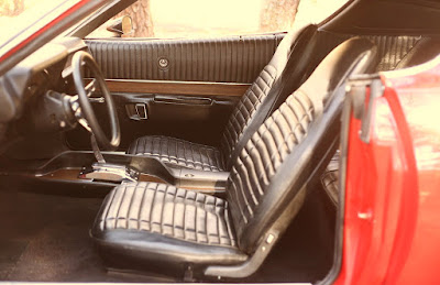 1971 Dodge Charger Sport Coupe Seat Front