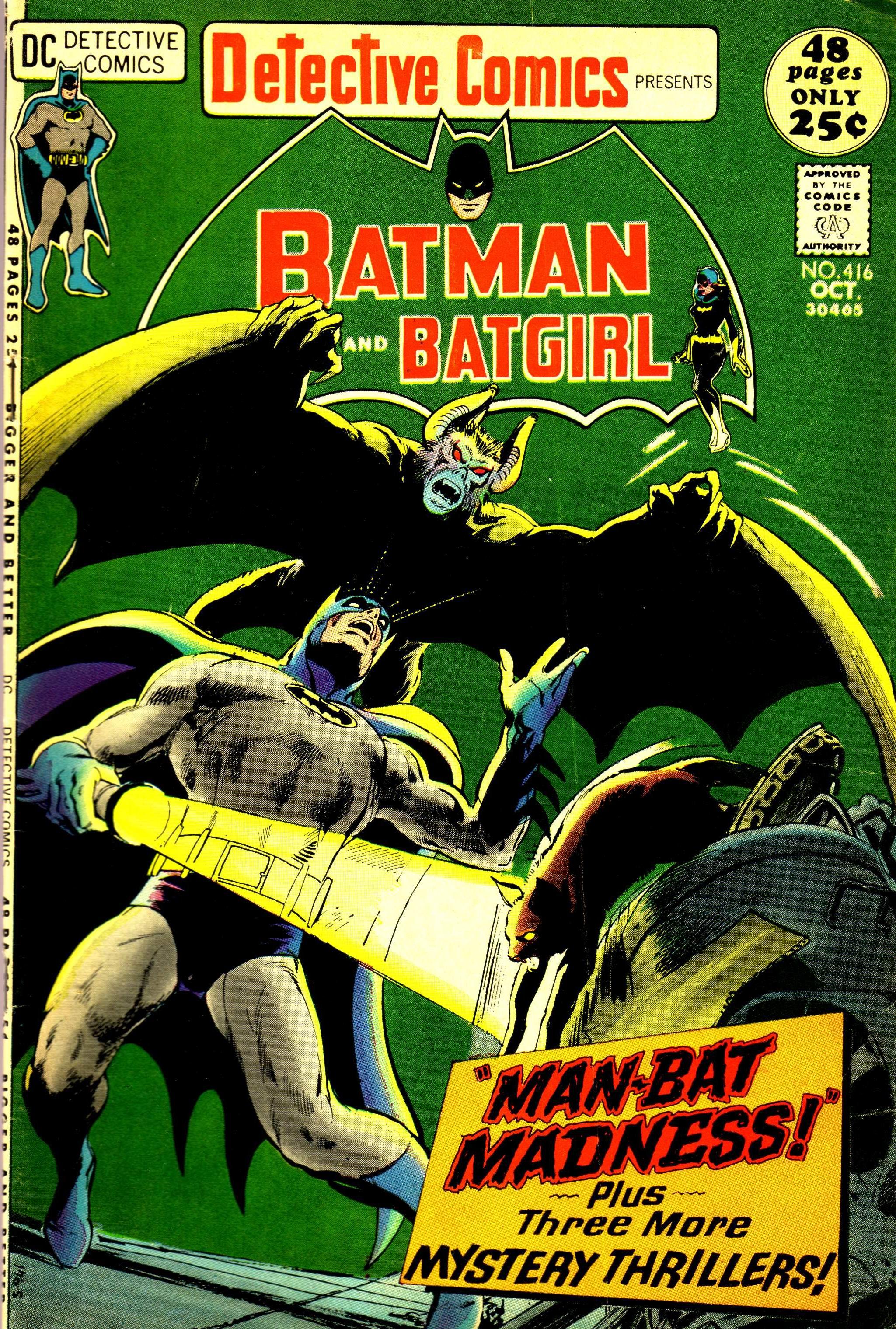 Detective Comics (1937) 416 Page 0