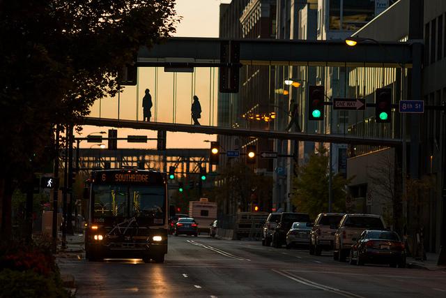 Brian Abeling, fotos inspiradoras bonitas, cool city lights, atardecer
