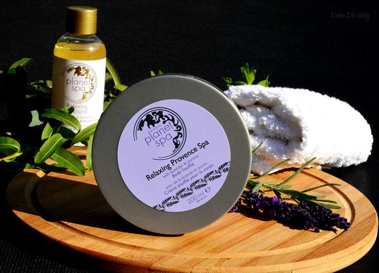 Nawilżająco-relaksujący mus do ciała Relaxing Provence Planet Spa