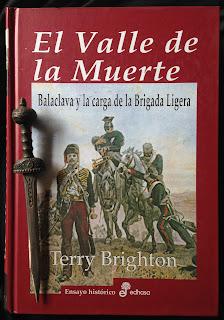 Portada del libro El valle de la muerte, de Terry Brighton