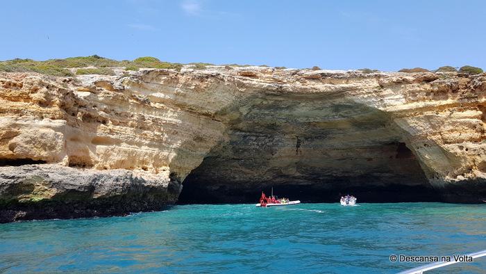 Passeio de barco pelas Grutas do Algarve
