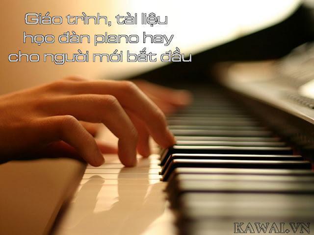 Chia sẻ 20 bộ giáo trình tự học piano ở nhà