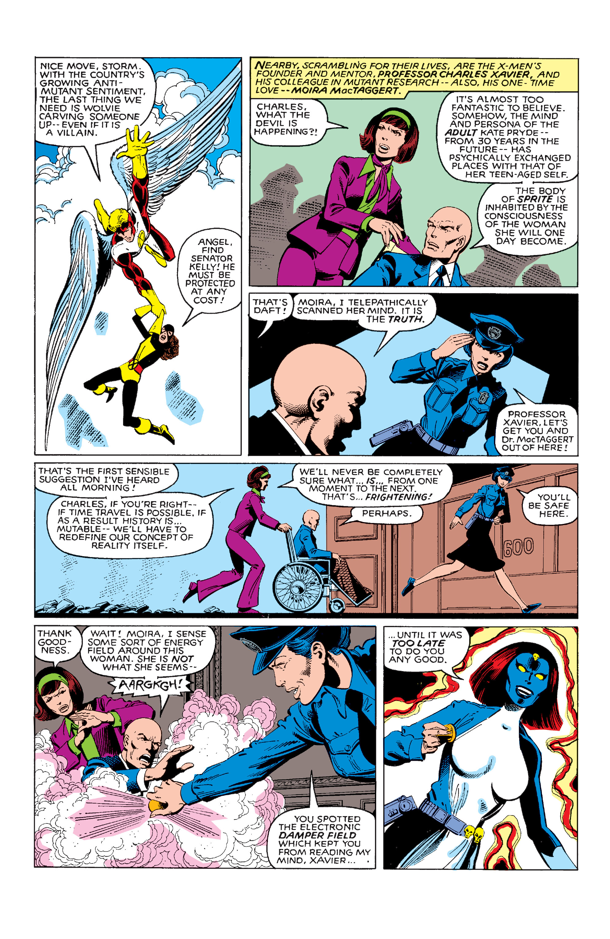 Read online Uncanny X-Men (1963) comic -  Issue #142 - 5