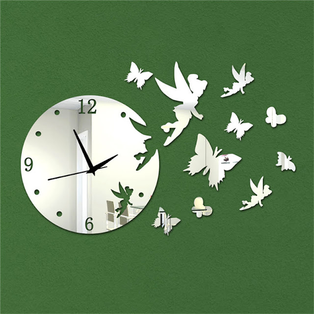 Clocks Mirrors