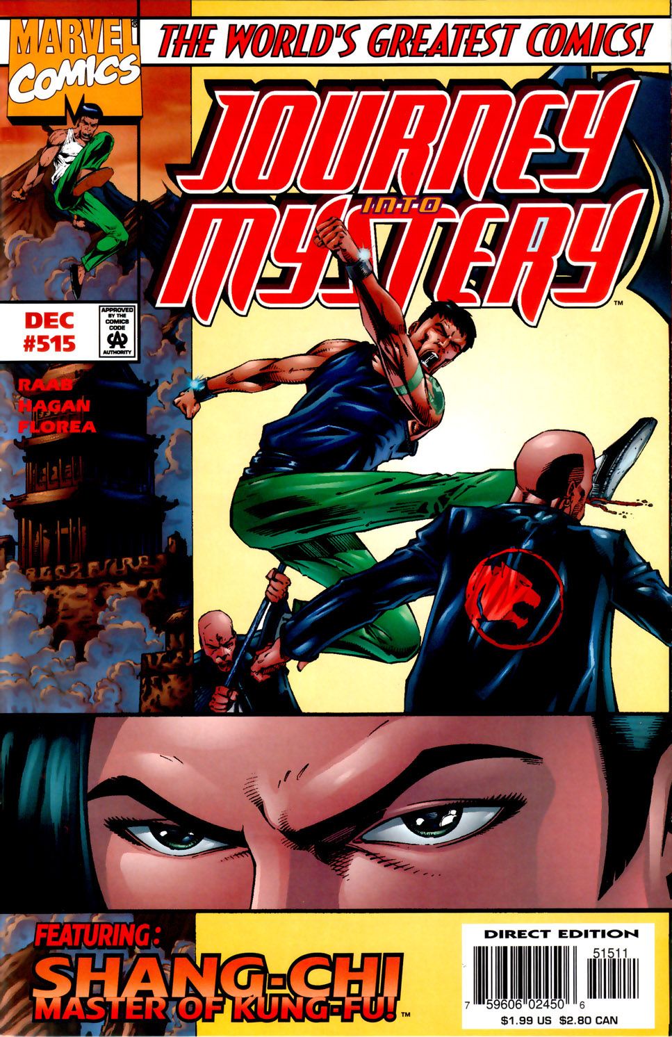 Journey Into Mystery (1996) issue 515 - Page 1