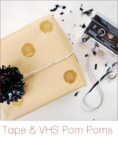 http://www.cremedelacraft.com/2012/12/DIY-Upcycle-Pom-Poms-Party.html