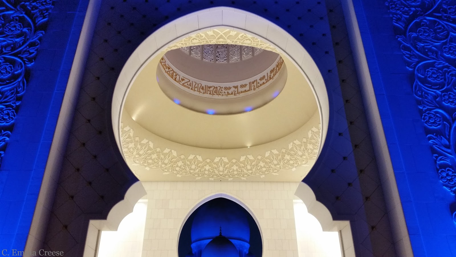 When in Abu Dhabi visit the Grand Mosque