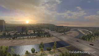ets 2 realistic graphics mod v2.3.1 screenshots 4