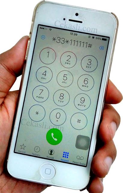 Cara Cek HP iPhone Asli dengan Kode Rahasia