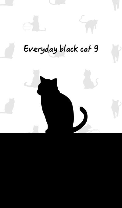 Everyday black cat9