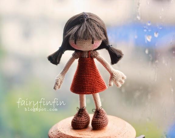 crochet toys crochet amigurumi doll girl model number TS041319 ... | 455x575