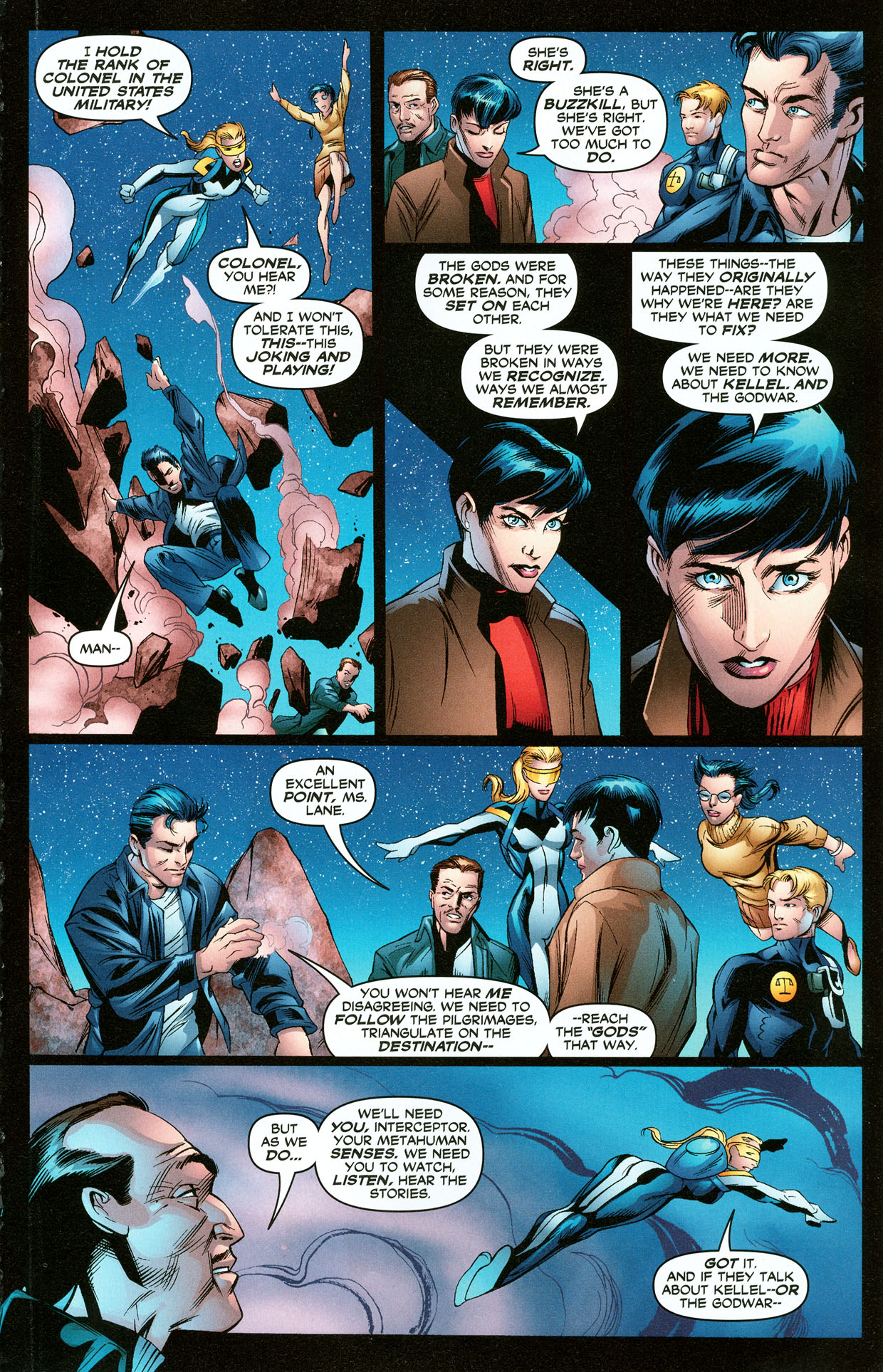 Read online Trinity (2008) comic -  Issue #33 - 16