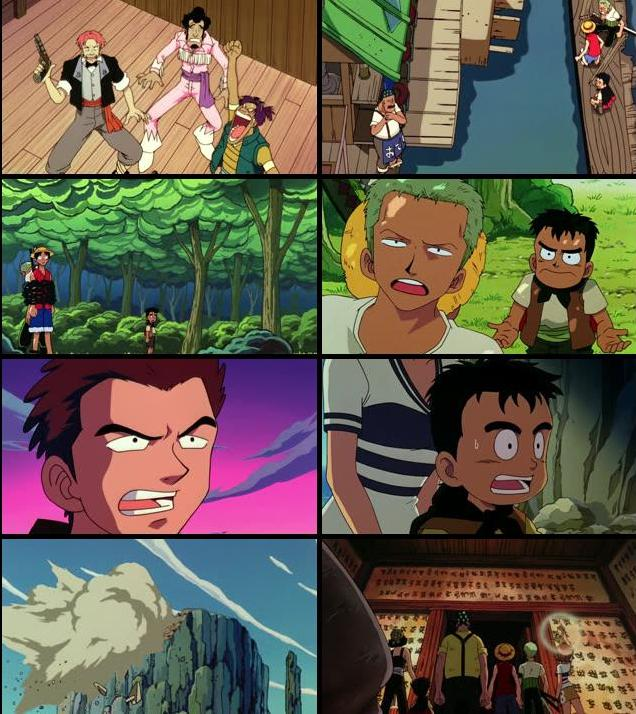 One Piece The Movie 2000 Hindi Dubbed 720p BRRip