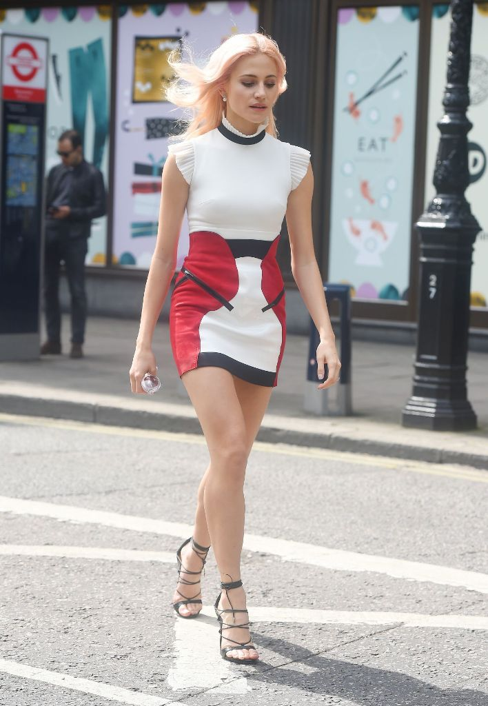 Pixie Lott Chic Street Style in London