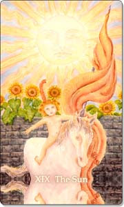 celebrate the sunrise the sun tarot summer solstice tarot blog hop