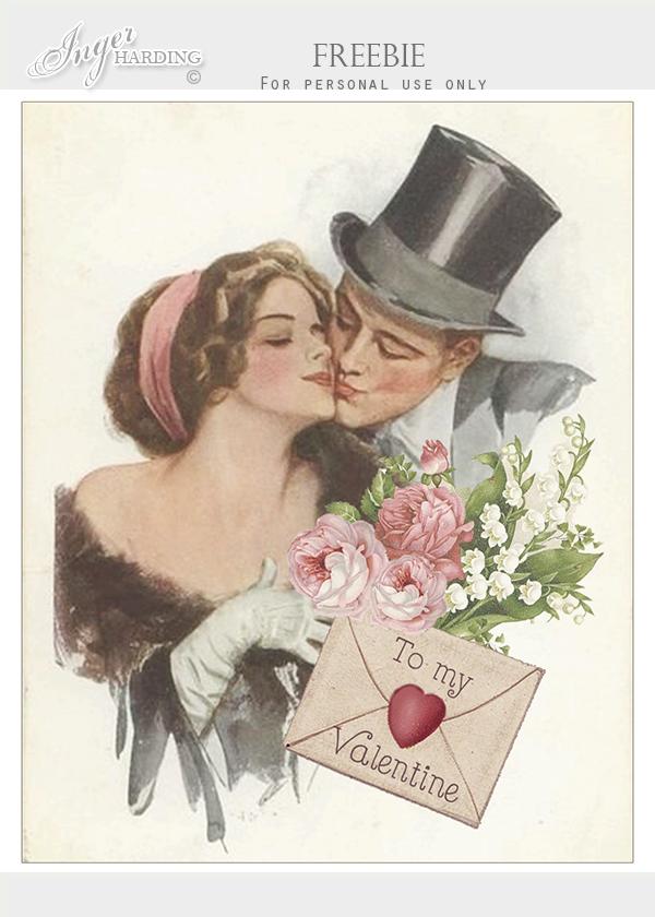 Vintage Valentines FREEBIE