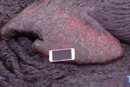 VIDEO! Inilah Yang Terjadi Jika iPhone 6S Kamu Dibuang Di Lava Panas
